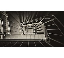 Stairs Spiral Photographic Print