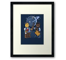 Space Is Awesome Framed Print