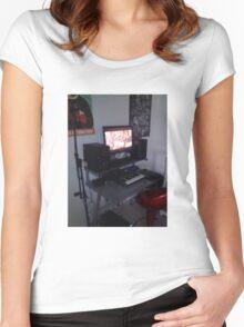 CloudLounge Studio  Women's Fitted Scoop T-Shirt