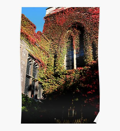 Deans Yard Westminster Abbey Poster