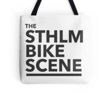 the STHLM BIKE SCENE Tote Bag