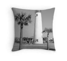 Between the Palms Throw Pillow