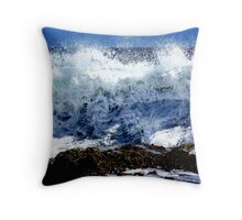 Frothing Monster! Throw Pillow