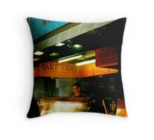 After Pub Grub Throw Pillow