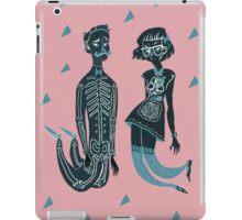 I think we work well together iPad Case/Skin
