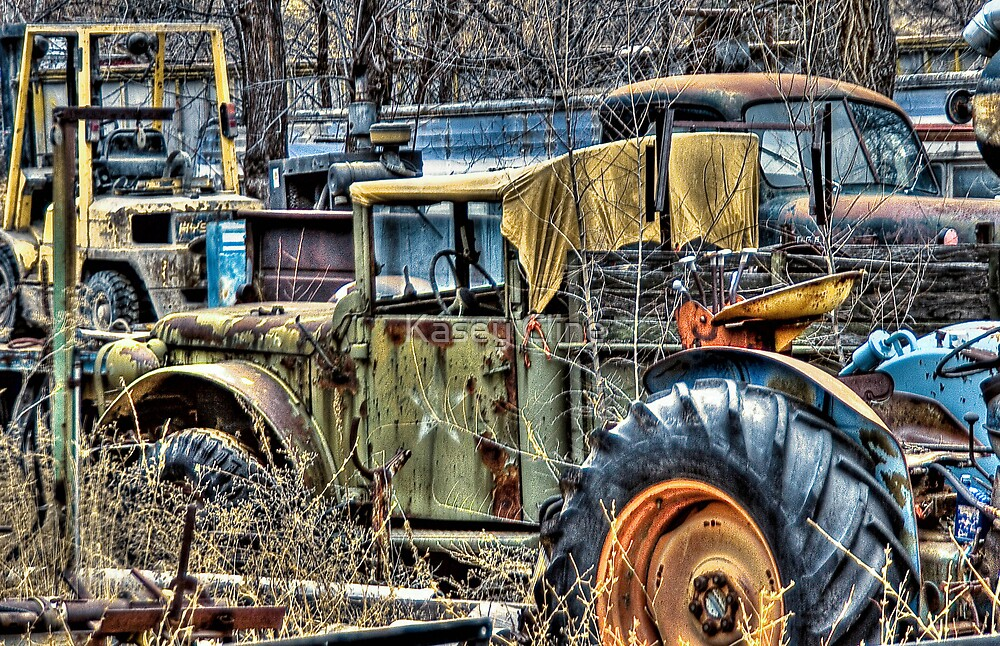 More Junk Trucks by Kasey Cline