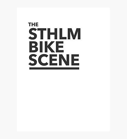 the STHLM BIKE SCENE Photographic Print