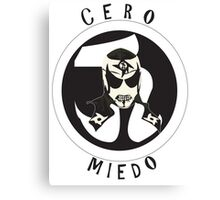 Pentagon jr Cero Miedo Canvas Print