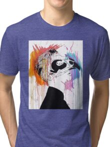 Take your face off Tri-blend T-Shirt
