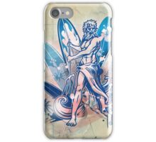 poseidon surfer  iPhone Case/Skin