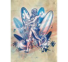 poseidon surfer  Photographic Print