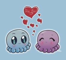 True Love: Tako-Chan V Day Shirt Kids Clothes