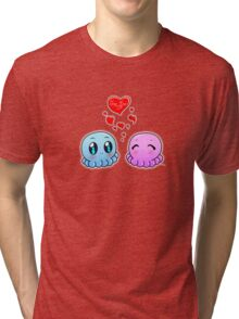 True Love: Tako-Chan V Day Shirt Tri-blend T-Shirt
