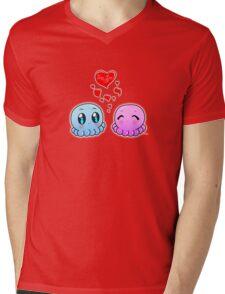 True Love: Tako-Chan V Day Shirt Mens V-Neck T-Shirt