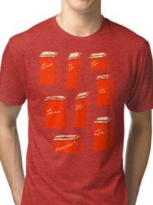 'Retro Prescriptives an Antithesis for Post-Modern Living' Tri-blend T-Shirt