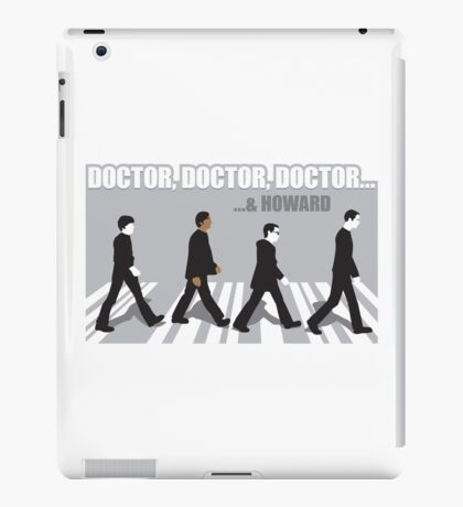 3 PHd's and a Master's Degree iPad Case/Skin