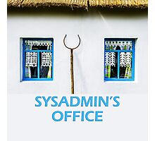 Sysadmin's office Photographic Print