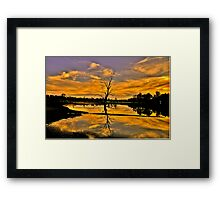 Wetland Dreaming - Wonga Wetlands, Albury NSW - The HDR Experience Framed Print
