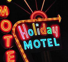 Holiday Motel by Joe Schaf