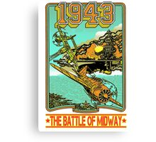 The Battle of Midway Canvas Print