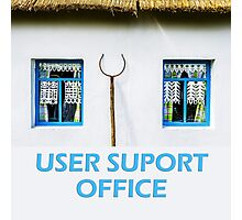 User support office Photographic Print