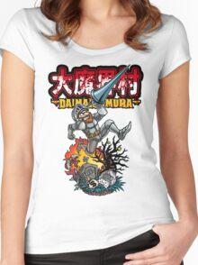 Daimakaimura Women's Fitted Scoop T-Shirt