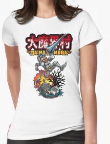 Daimakaimura Womens Fitted T-Shirt