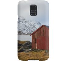 The red shed Samsung Galaxy Case/Skin
