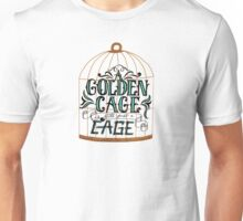A Golden Cage Hand Lettering Unisex T-Shirt