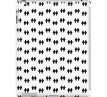 Two men holding hands iPad Case/Skin