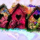 Baby Birdhouses by ClaireBull