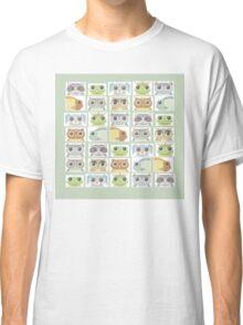 Portraits Of Animal Friends Classic T-Shirt