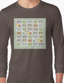 Portraits Of Animal Friends Long Sleeve T-Shirt