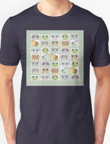 Portraits Of Animal Friends Unisex T-Shirt