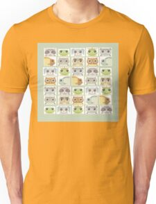 Portraits Of Animal Friends Unisex T-Shirt