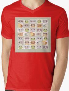 Portraits Of Animal Friends Mens V-Neck T-Shirt