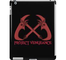 Project Vengeance iPad Case/Skin