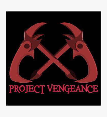 Project Vengeance Photographic Print