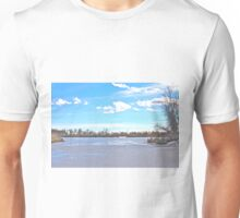 Trees and Ice Unisex T-Shirt