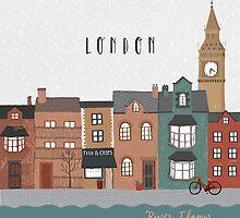 River Thames by ChloeJoyce