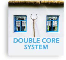 Double core system Canvas Print