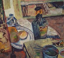 STILL LIFE WITH DRY(C1994) by Paul Romanowski