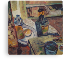 STILL LIFE WITH DRY(C1994) Canvas Print