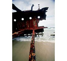 Shipwreck #6 Photographic Print