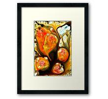 lava lumps # 3 Framed Print