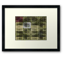 ©NS Square Ditto II Framed Print