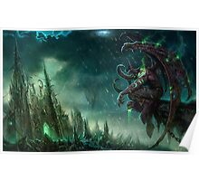 Illidan - Heroes of the storm Poster