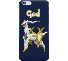 God iPhone Case/Skin