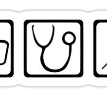 Nurse equipment Sticker