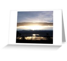 Shine down on me Greeting Card